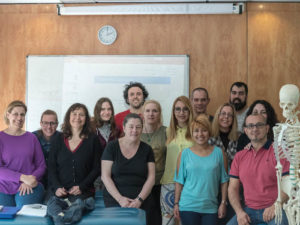 Grupo de alumnos del curso de Introducción a la K.C. Kinesiología Celular ® para naturópatas